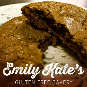EmilyKate GLUTEN FREE Old Fashioned Molasses Spice Cookies (Qty - 6)